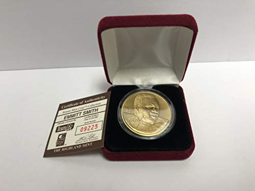 - Emmitt Smith Bronze Medallion Limited Edition Mint Coin Dallas Cowboys from the Highland Mint and is serial numbered to 25,000