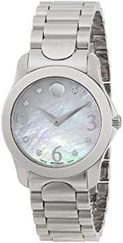 Movado Diamond Mother of Pearl Dial Ladies Watch
