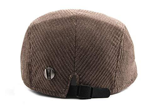 Gorra para Mujer C para engomado para A Moda hat Mujer de Gorra qin e otoño Hombre Sombreros Invierno Boina GLLH Delantera zYqwFY4