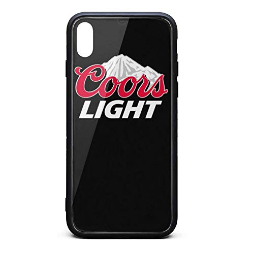 Coors-Light-Logo- Phone Case for iPhone X/XS TPU Gel Full Body Protection Stylish Anti-Scratch Fashionable Glossy Anti Slip Thin Shockproof Soft Case (Light Coors Case)
