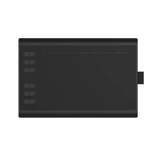 LIUJING Tableta Gráfica, Inteligente 10X6.25 Pulgadas Tablet ...