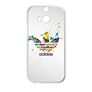 Adidas Logo_004 HTC One M8 Cell Phone Case White Protective Cover