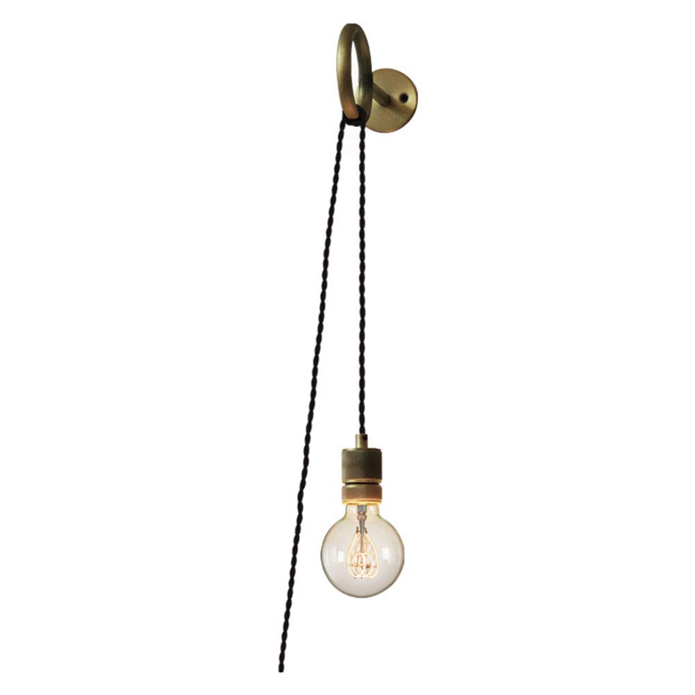 MMJ Wandlampe & Beleuchtung, Retro Industrial Style Creativity Wall Sconces Living Room Bedroom Bedroom Lights Pull Ring Wall Lampe Lampe Lampe