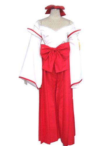 Ch&Ch Disfraz bruja misteriosa japoneses Vestido rojo de las mujeres , xxxl