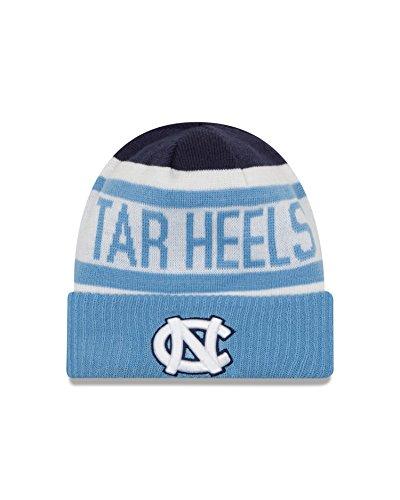 NCAA North Carolina Tar Heels Biggest Fan 2.0 Cuff Knit Beanie, Sky Blue, One Size