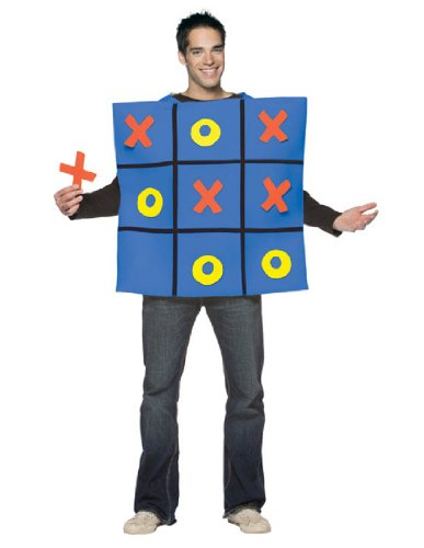Tic T (Game Board Costumes Halloween)