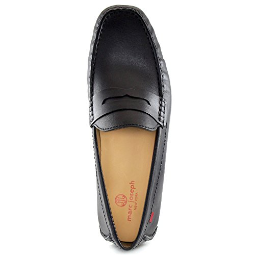 Mannen Echt Leer Gemaakt In Brazilië Union Street Bestuurder Marc Joseph Ny Fashion Schoenen Zwart Nappaleer