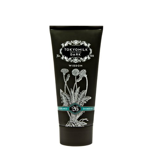 Gel Scented Perfume (Tokyo Milk Dark Perfumed Shower Gel, No.26 Wisdom, 5.5 Ounce)