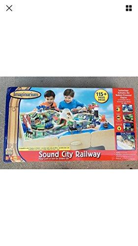 Imaginarium 115-Piece Sound City Railway Train Table with Two Storage ()