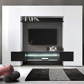 Kasalinea Eros 3 - Mueble para televisor de Pared Lacado, Color ...