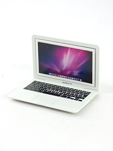 Mini White Laptop Perfect Scale for 18