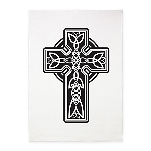 5' x 7' Area Rug Celtic Cross by Royal Lion