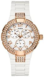 GUESS U13608L1 Status In-the-Round Multifunction Watch