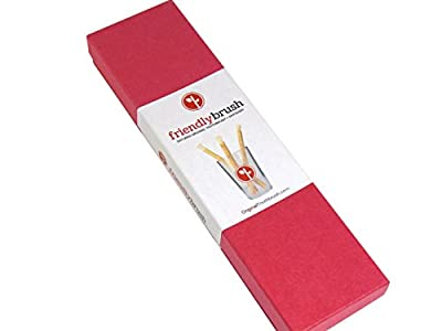 Miswak Tooth Whitening Kit by FriendlyBrush, Best ALL Natural Toothbrush & Teeth Whitening System. We Guarantee It (3 Mth Kit)