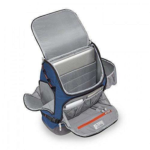 Briggs & Riley Brx Excursion Backpack, Blue by Briggs & Riley (Image #2)
