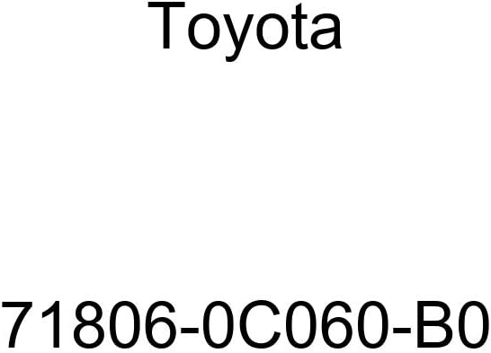 TOYOTA Genuine 71862-06200-C0 Seat Cushion Shield