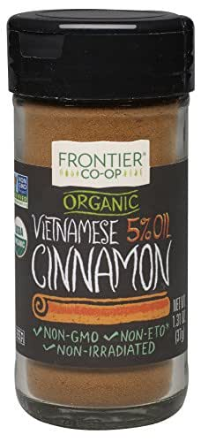 Frontier Organic Vietnamese Cinnamon, Ground, 1.31 Ounce