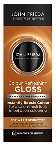 Conditioning Gloss Color (John Frieda Precision Colour Refreshing Gloss for Warm Brunettes, 6 Fluid Ounce)