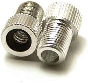 SANDIN Convertidor de adaptadores de válvula de bicicleta 2x ...