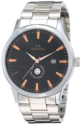 Maxima Analog Black Dial Men's Watch-O-57132CMGI