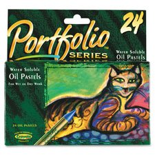 Portfolio Pastels Water Soluble Assorted