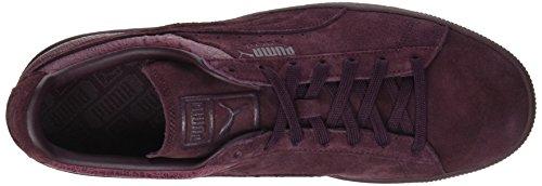 Puma Unisex-erwachsene Camoscio Classico Casual Impronta Sneaker Marciume (winetasting)