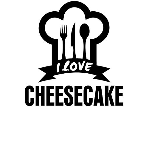 - PressFans I Love Cheesecake Food Drink Vegetable Car Laptop Wall Sticker