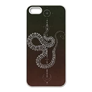 snake pattern For HTC One M9 Phone Case Cover White
