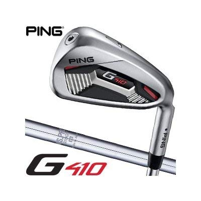 [ピン] G410 アイアン N.S. PRO 950GH スチールシャフト 6本セット[#5-P] 標準グリップ アイアンカラーコード:ブラック 左用