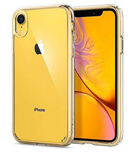 : Spigen Ultra Hybrid Designed for Apple iPhone XR Case (2018) - Crystal Clear