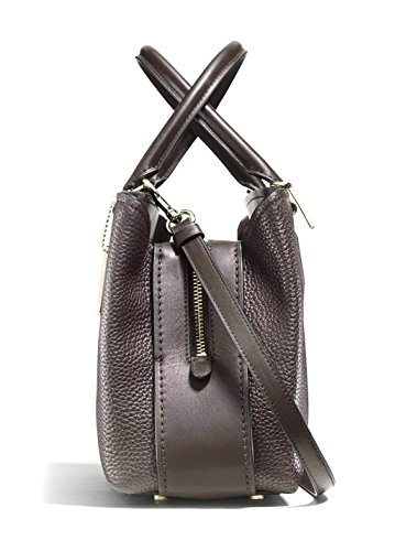Chestnut Carryall Womens Li Pebbled Brooklyn COACH 28 xwqf7YYU