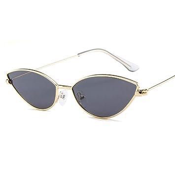 PFMY.DG Caja pequeña Gafas de Sol Moda Gato Ojo Gafas de Sol ...