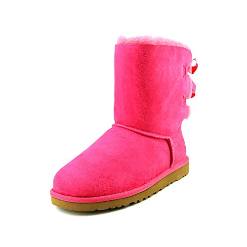 UGG Kids Girls' Bailey Bow (Big Kid), Cerise, 5 M]()