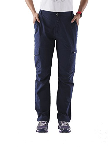 Nonwe Ladies' Outdoor Quick Drying Tactical Cargo Pants Blue Granite L/32 Inseam