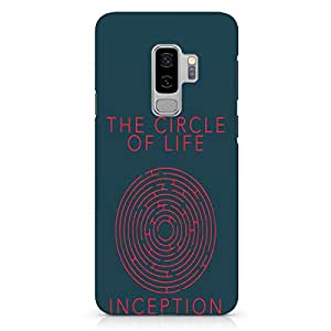 Loud Universe Inception Movie Samsung S9 Plus Case Circle of Life Samsung S9 Plus Cover with 3d Wrap around Edges