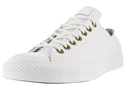 Low Taylor Shoe Leather Star Biscuit Top All Converse Chuck White HqARXX