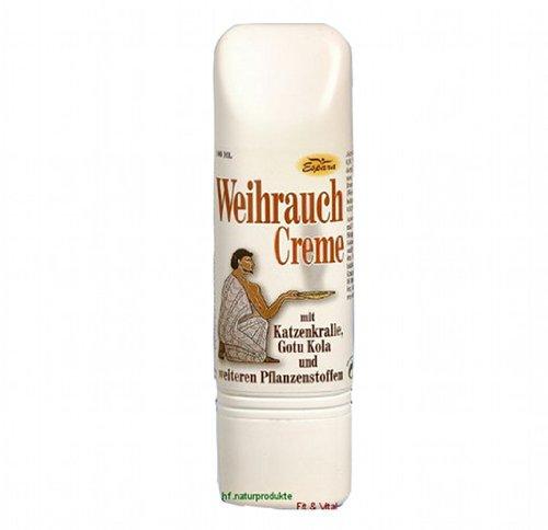 Weihrauchcreme 100 ml mit Gotu Kola, Ackerschachtelhalm und Katzenkralle von Espara und HF