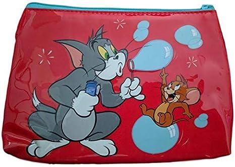 Maxi Estuche bolsita Tom & Jerry: Amazon.es: Oficina y papelería
