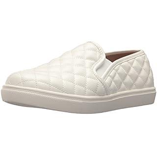 Steve Madden Women's Ecentrcq Sneaker, White, 8 M