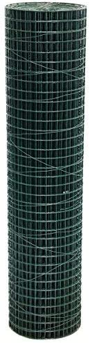25mm// 1 holes 15 Gauge Garden Fence Welded Wire Mesh 0.9m x 10m Green PVC Coated Steel Fencing