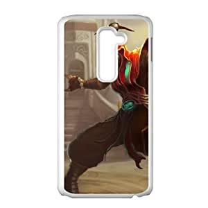 LG G2 Cell Phone Case White League of Legends Acolyte Lee Sin Migky