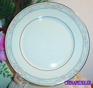LENOX SALAD PLATE CHARLESTON - Lenox Crystal Plates