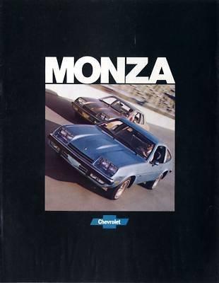 1977 CHEVROLET MONZA COLOR SALES BROCHURE: MONZA 2 + 2 HATCHBACK, MONZA TOWNE COUPE & MONZA SPYDER - September, 1976 3415 - USA - NICE ORIGINAL !! - Towne Coupe