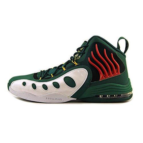 Nike Menns Soniske Fly Basketball Sko Grønn