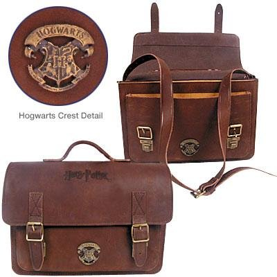 Harry Potter Double Buckle Leather Briefcase - currently unavailable