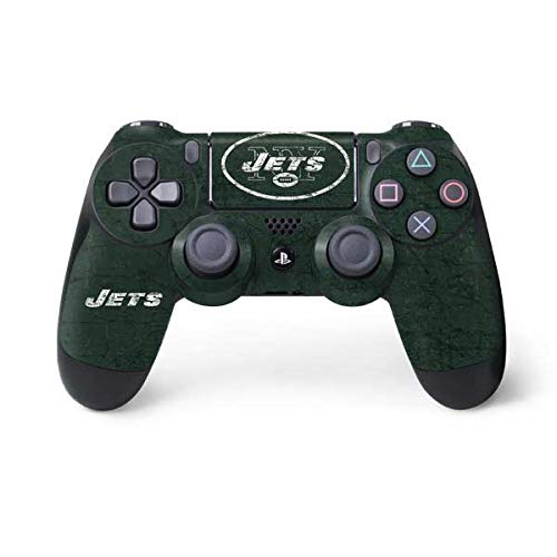 (NFL New York Jets Distressed Skin for Sony PlayStation 4/ PS4 Dual Shock4 Controller )
