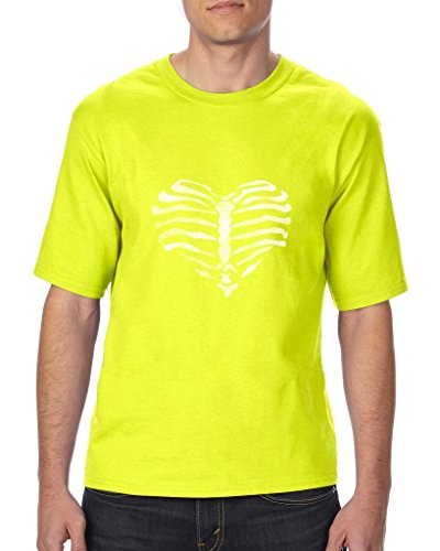 [Xekia Ribcage Halloween Party Costume Fashion Party People Best Friends Couples Gifts Unisex T-Shirt Tall Sizes 3X-Large Tall Safety] (Costumes For Tall People)