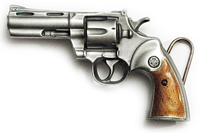 (REVOLVER Belt Buckle Gun Rights NRA Firearms)