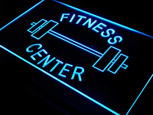 Cartel Luminoso ADV PRO i313-b OPEN Fitness Center Gym Room ...