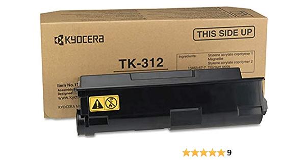Mar.3 Pack Compatible Kyocera Mita TK-312 Black Toner Cartridges FS-4000DN Printers FS-3820N TK312 for FS-2000D FS-3830N